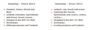 Prora 2013 Auszug Listing (14.03.2013)