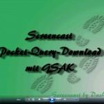 Screencast Pocket-Query Download mit GSAK