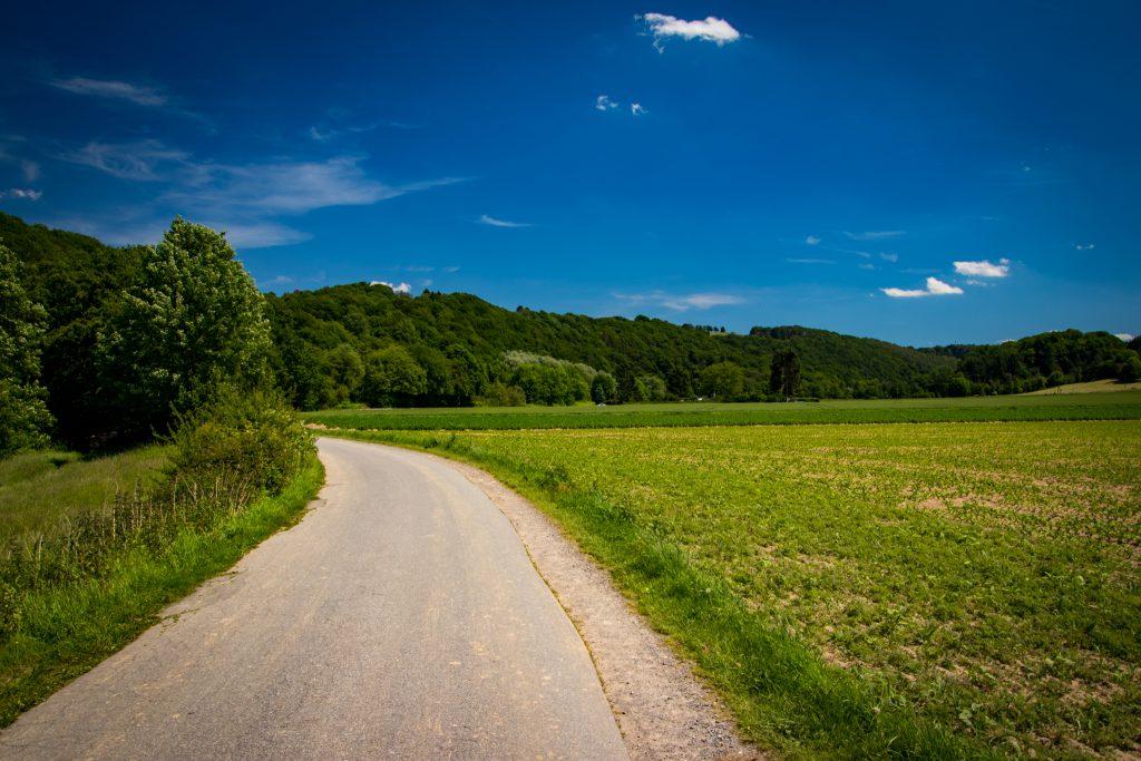 Fahrradtour im Bergischen Land - Bei Nesselrath