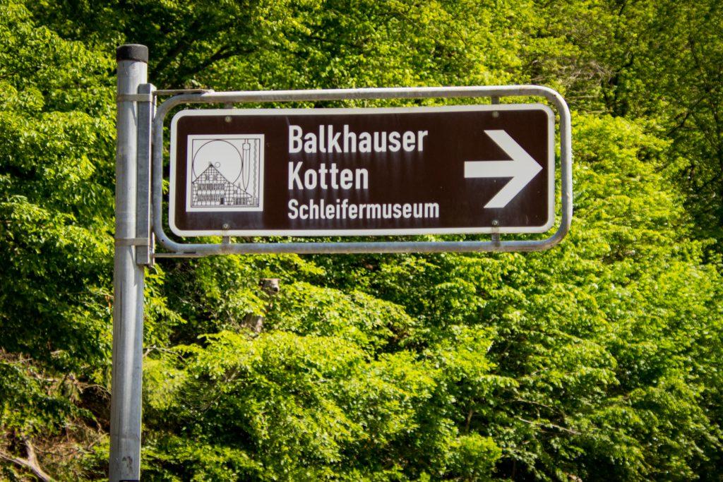 Fahrradtour im Bergischen Land - Balkhauser Kotten