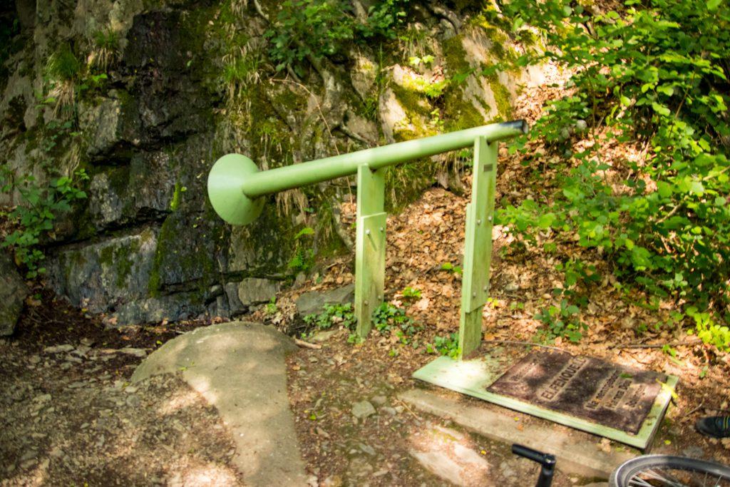 Fahrradtour im Bergischen Land - Wasserort am WasserWeg Wupper