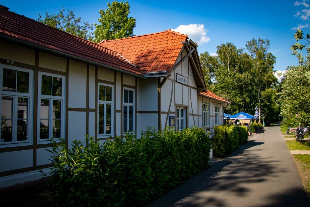 Fahrradtour im Bergischen Land - Balkantrasse - Alter Bahnhof Burscheid