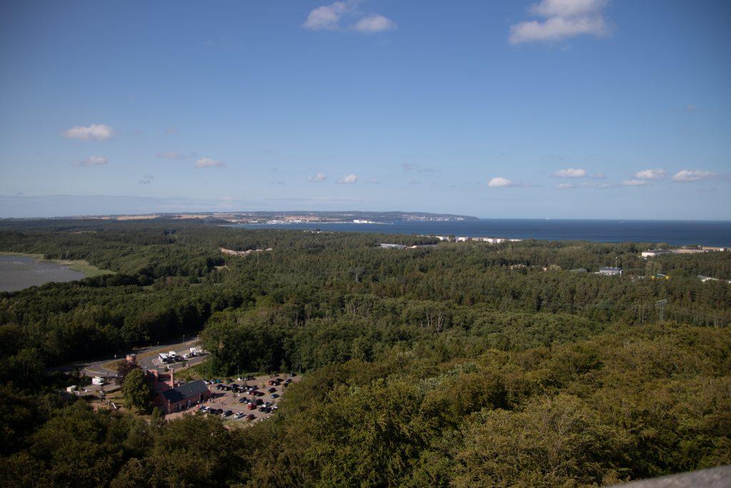 Ostsee - Rügen - Blick vom Baumwipfelpfad des Naturerbe Zentrum Rügen zwischen Binz und Prora