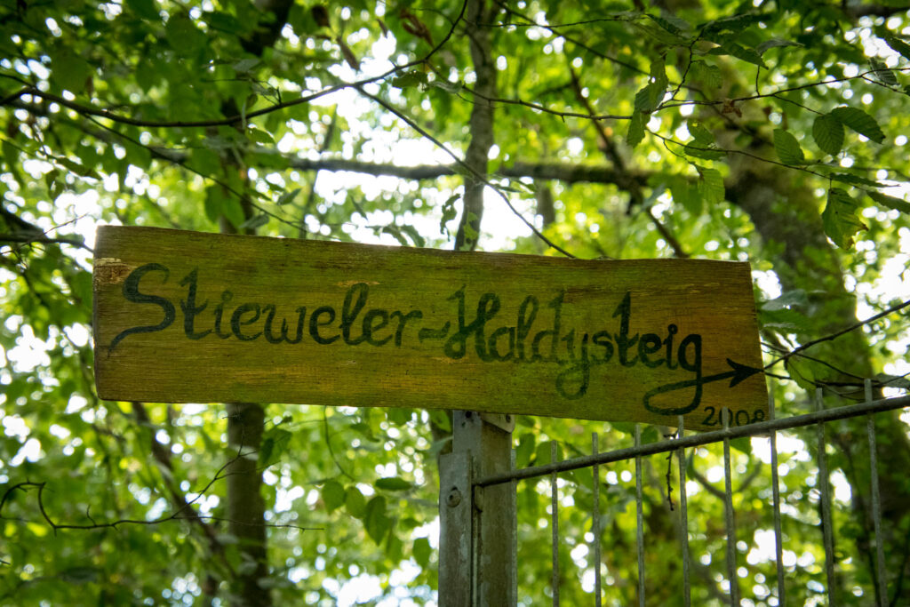 Wandern auf dem Streifzug Nr. 14 - Höhlenweg Engelskirchen
