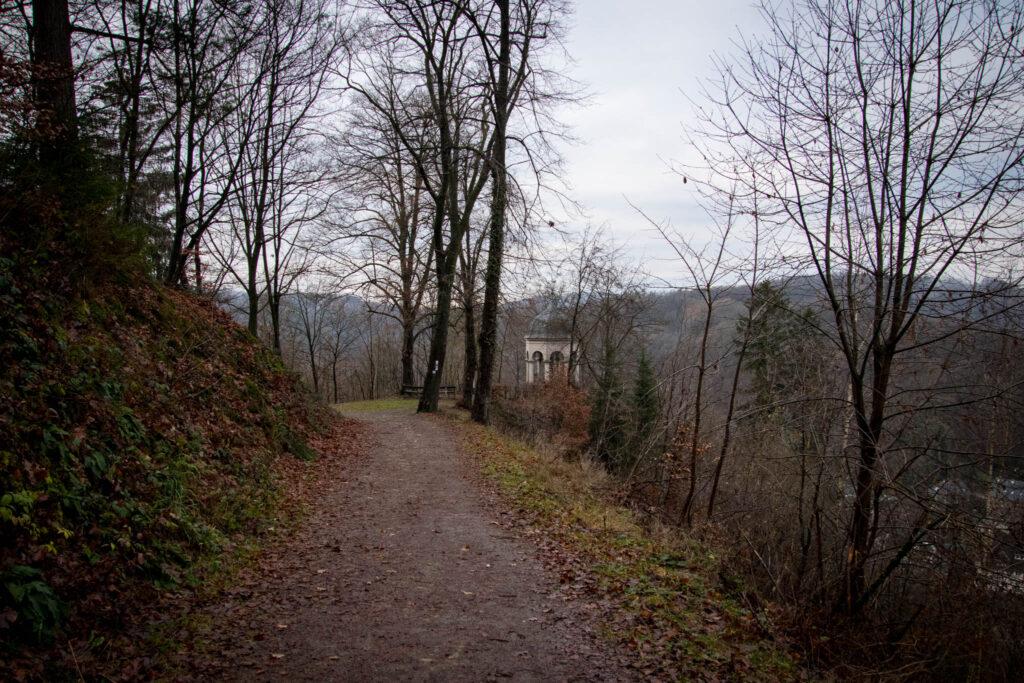 Wanderung rund um Schloss Burg - Diederichstempel Burg