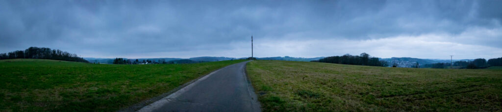 Streifzug #7 - Mühlenweg Kürten - Panorama Petersberg